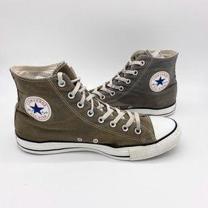 Converse All Stars Hi Top Gray Canvas